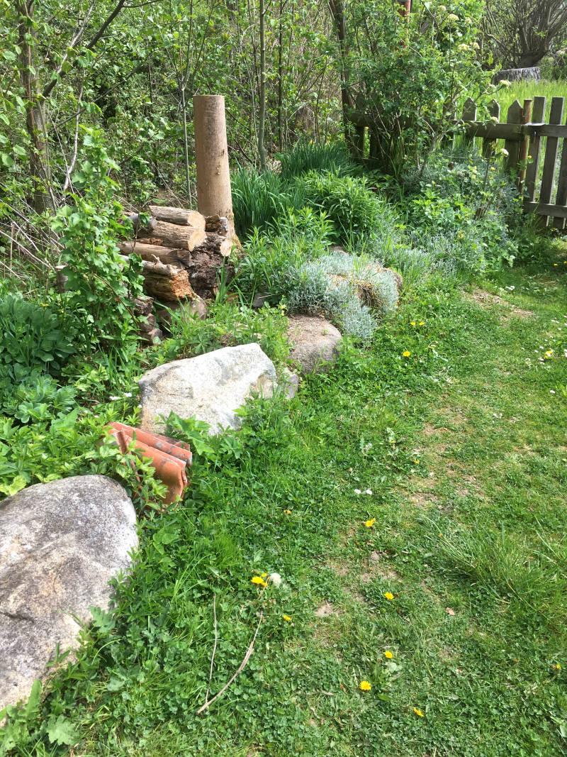 Material Gartengestaltung