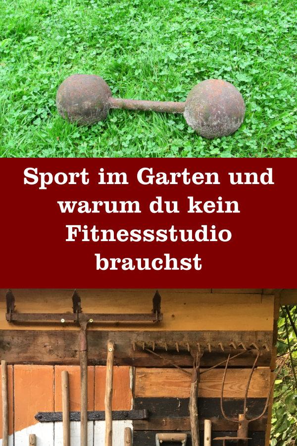 Sport im Garten