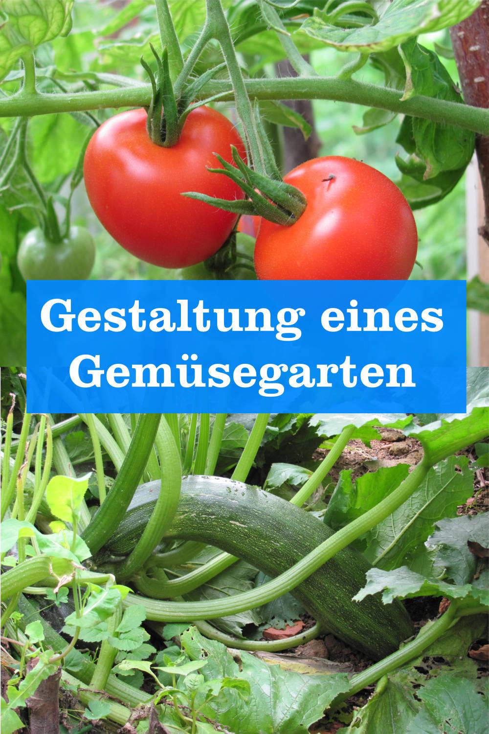 Gestaltung Gemüsegarten