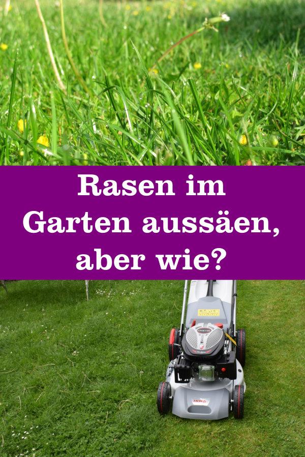 Wie Sät Man Rasen Aus Gartenbobde Der Garten Ratgeber