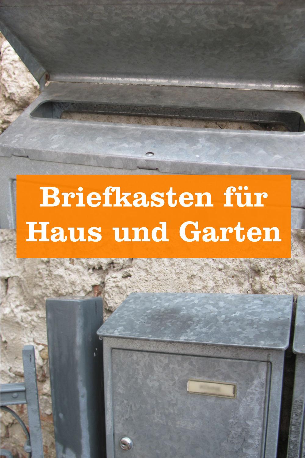 Briefkasten für Haus