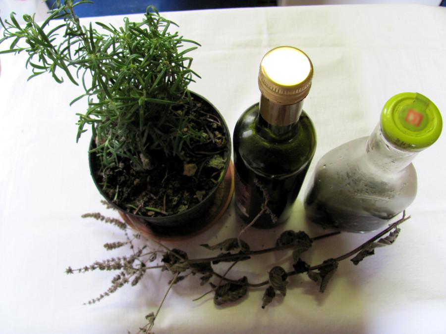 Rinsen aus Naturprodukten
