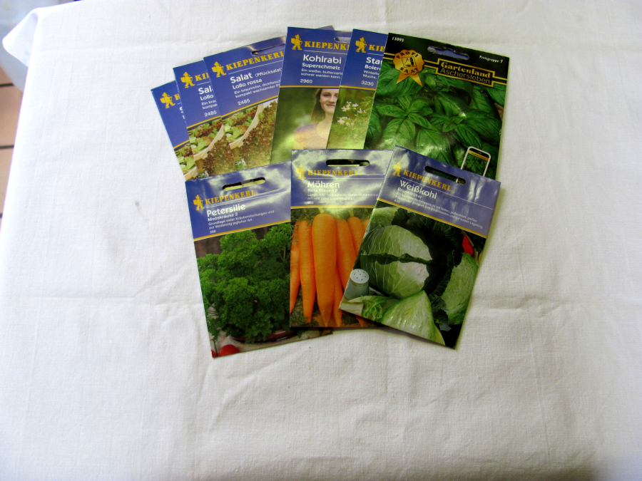 Saatgut Gemüse