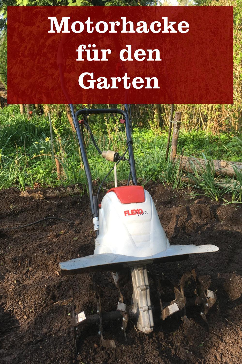 Motorhacke für Garten
