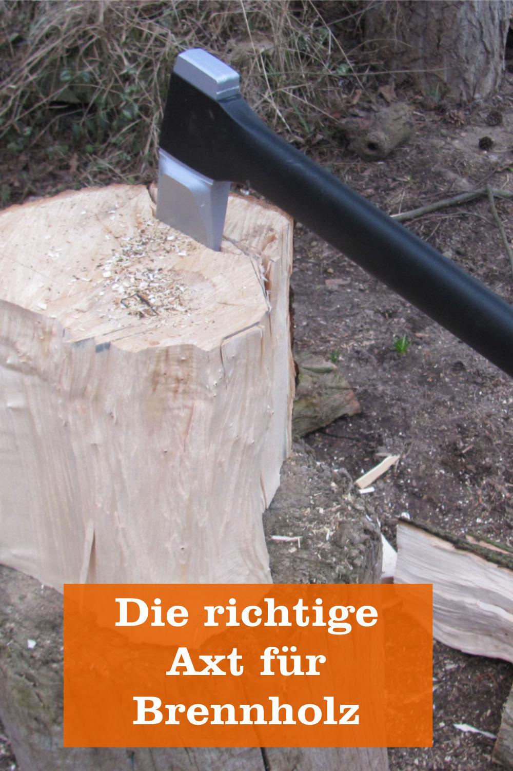 Axt für Brennholz
