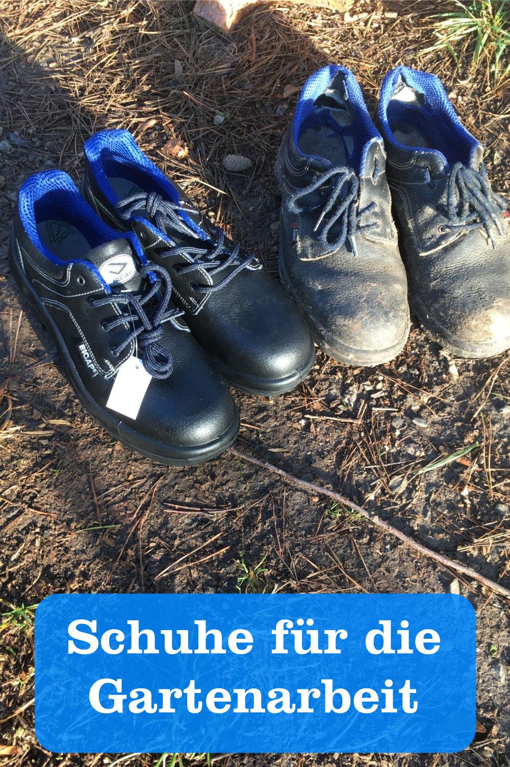 Schuhe Gartenarbeit