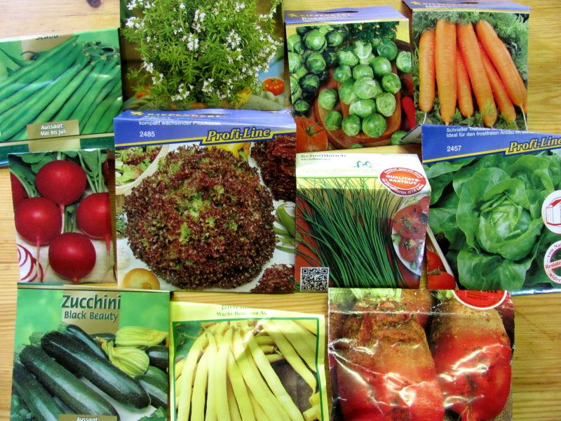 Saatgur für Gemüsegarten