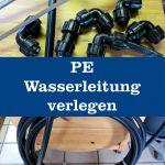 PE Wasserleitung verlegen