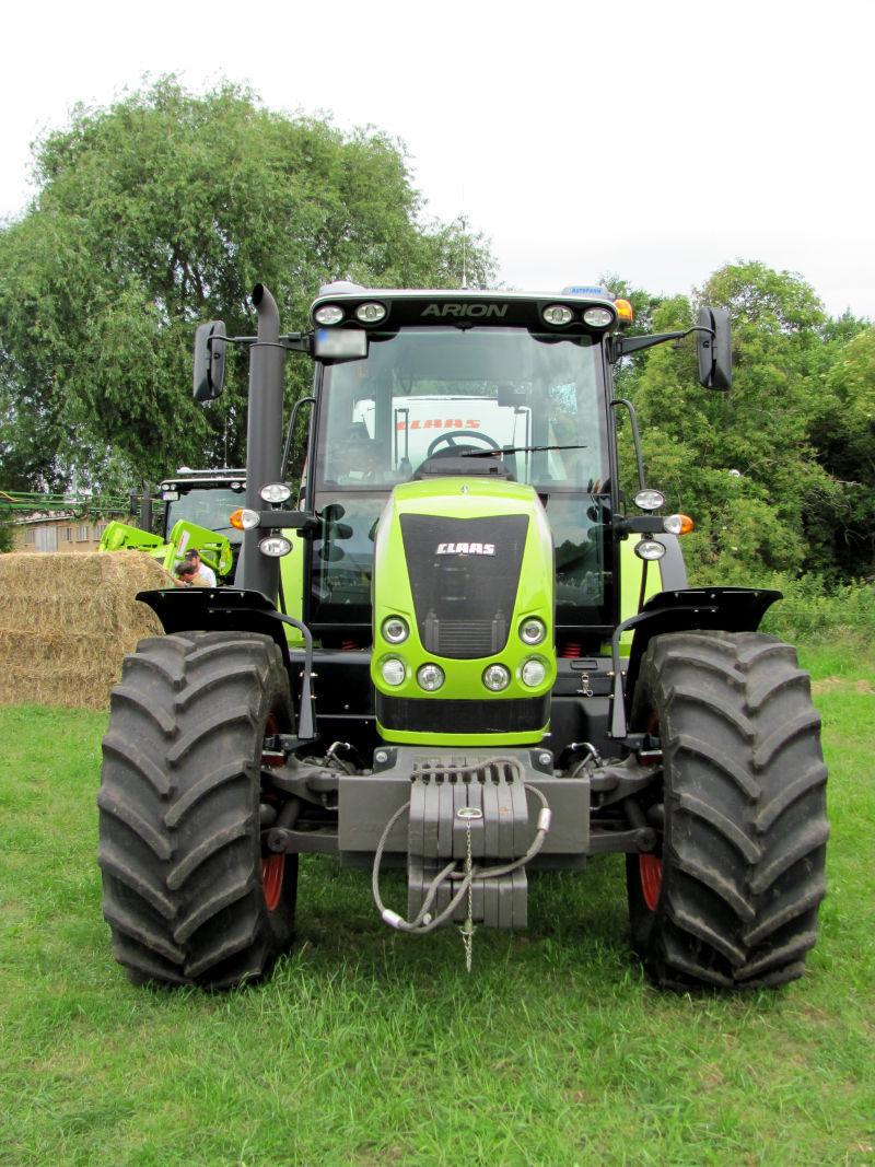 Gartentechnik Traktor