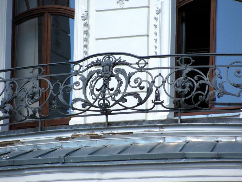 Verzinkter Balkon