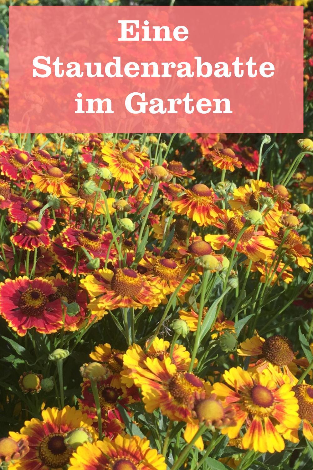Atemberaubend Eine Stauden-Rabatte sollte in keinem Garten fehlen » GartenBob.de &GQ_12