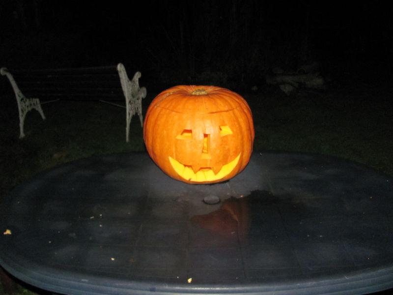 Halloween beginnt