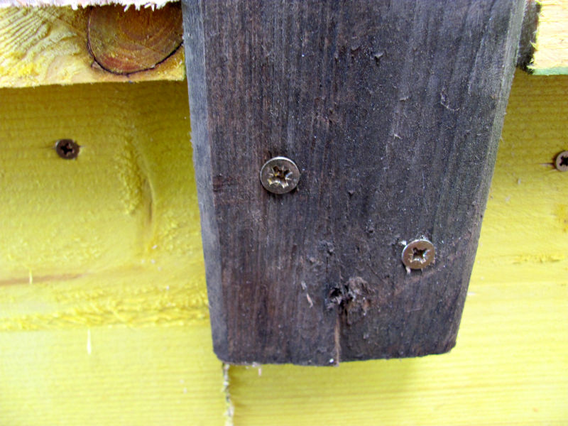 Schrauben statt Nägel