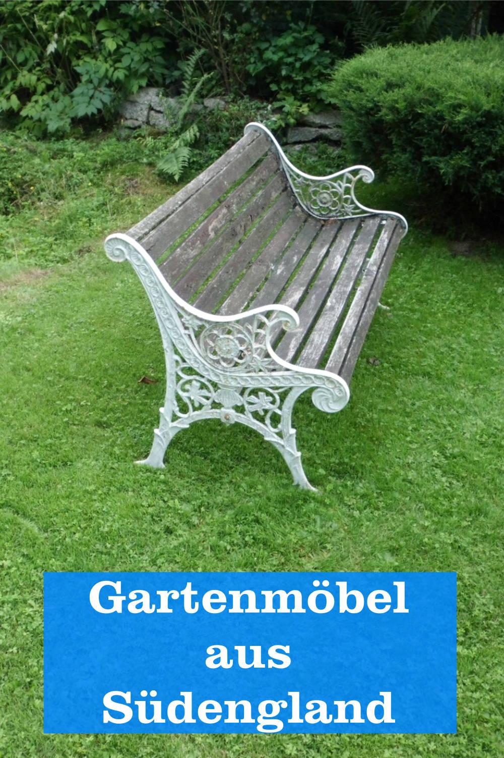 Gartenmöbel aus England
