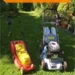 Elektro Rasenmäher oder Benzin Rasenmäher