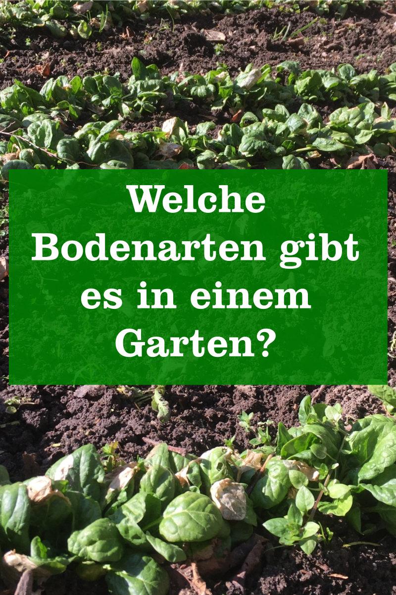 Bodenarten im Garten