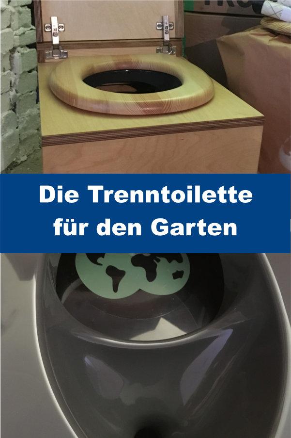 Toilette für Garten