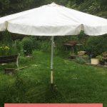 Sonnenschirm für Garten