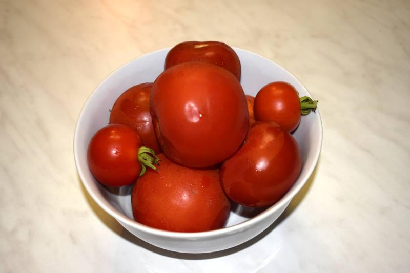 Tomaten Pflanzbehältern Blätter trocknen ab