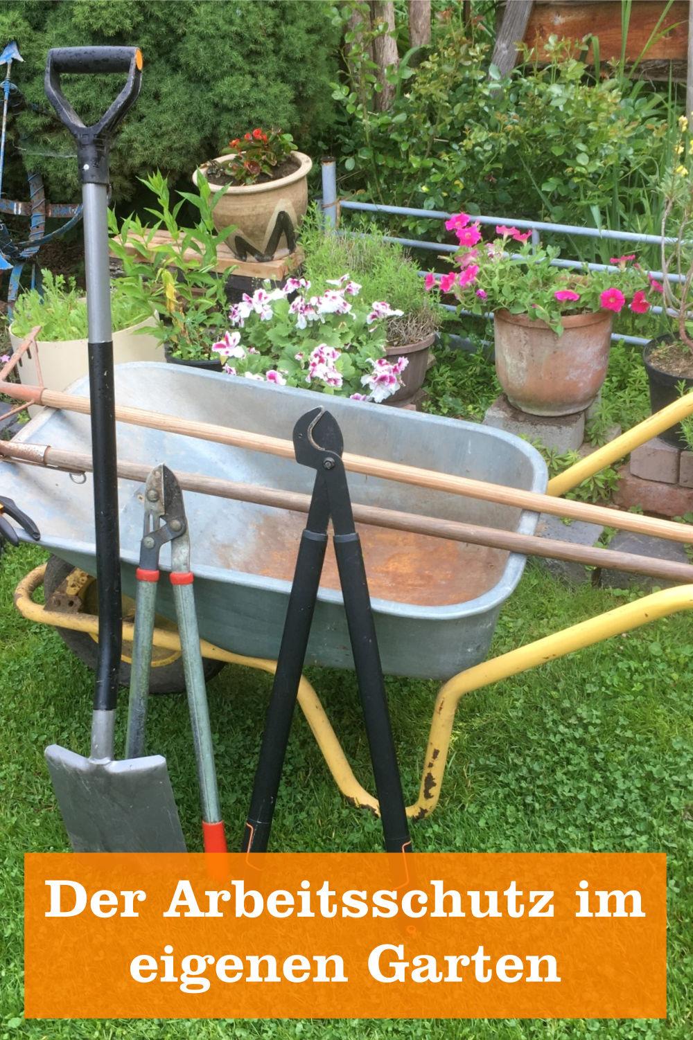 Arbeitsschutz Garten