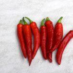 Paprika verkrümmen sich
