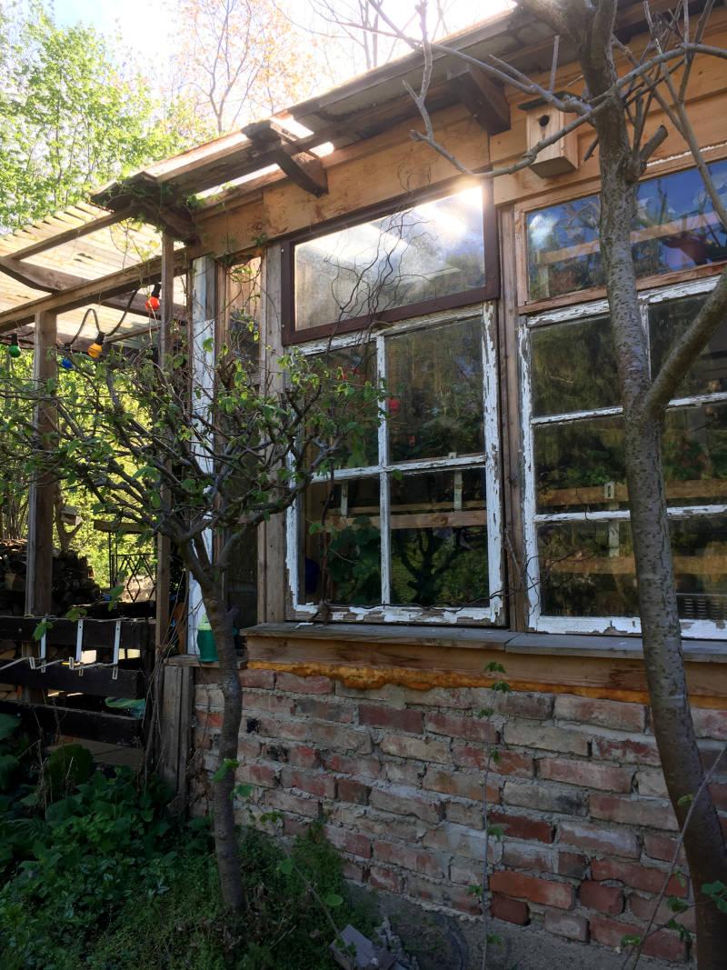 ein Gartenhaus planen