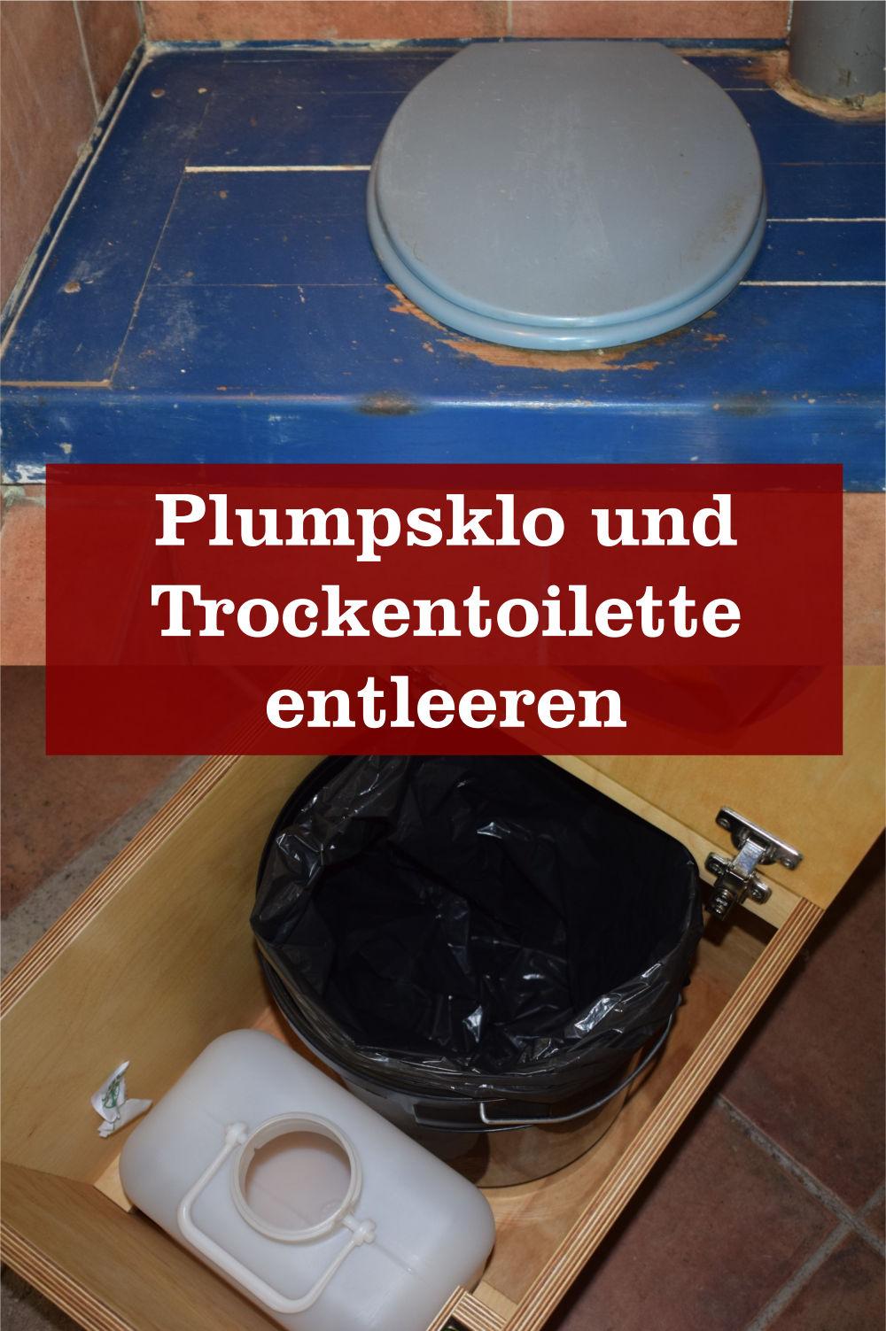 Plumpsklo und Trockentoilette