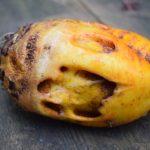 Fraßschäden an Früchten