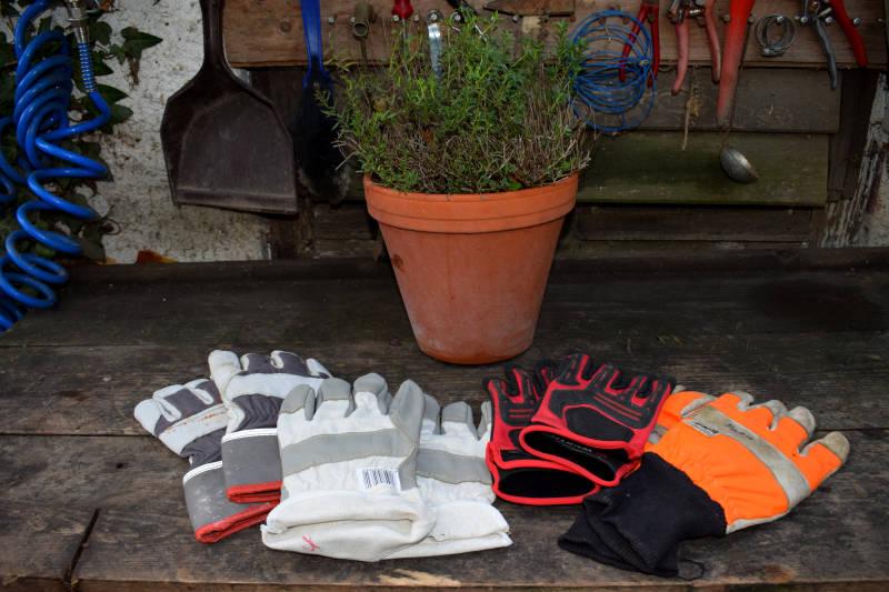 Arbeitsschutzhandschuhe für Garten