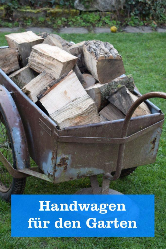 Handwagen für den Garten