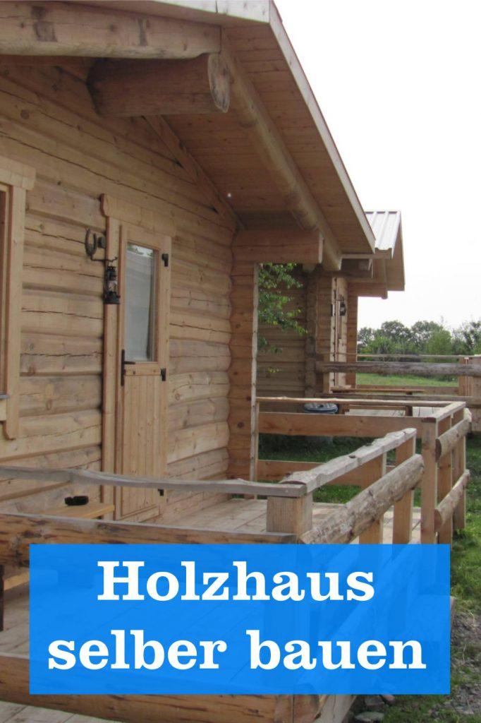 Holzhaus selber bauen