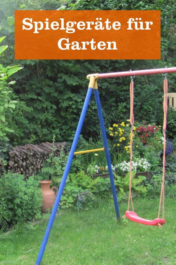 Spielgeräte für Garten
