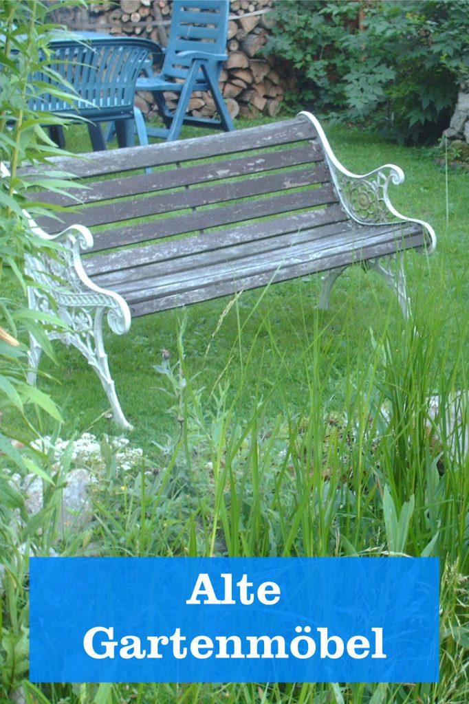 alte Gartenmöbel