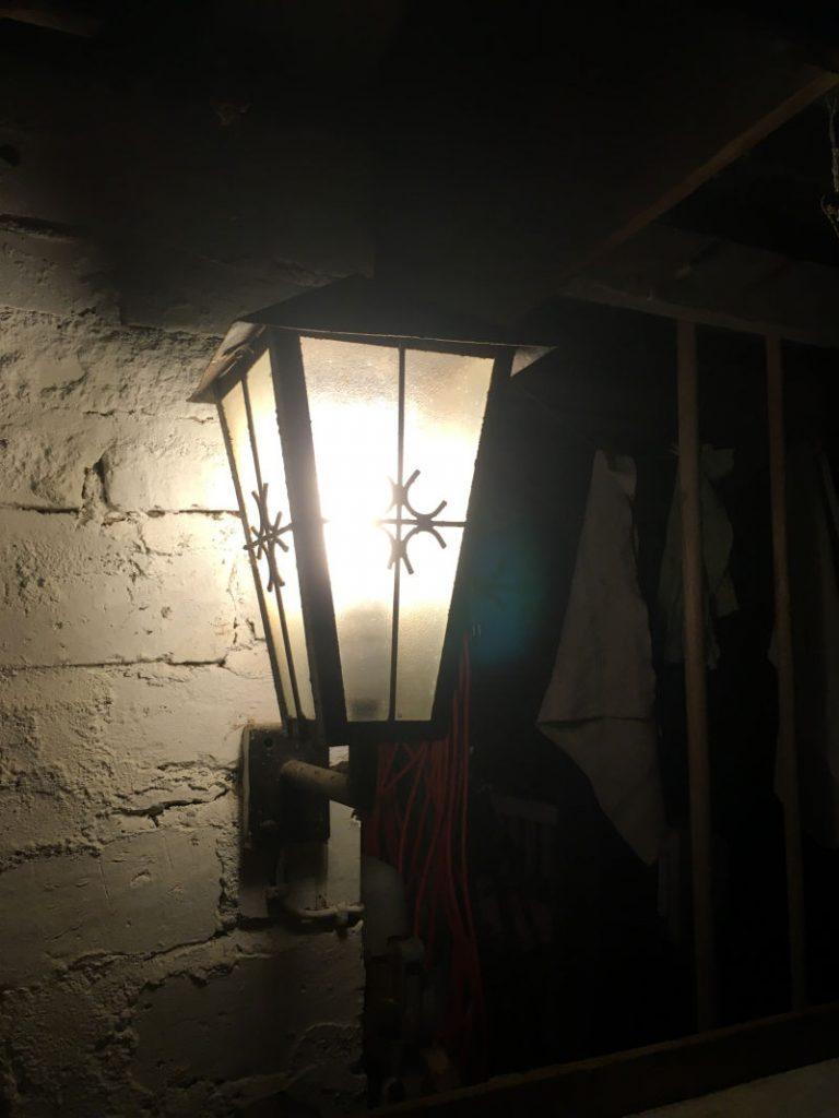 Gartenlampe nostalgisch