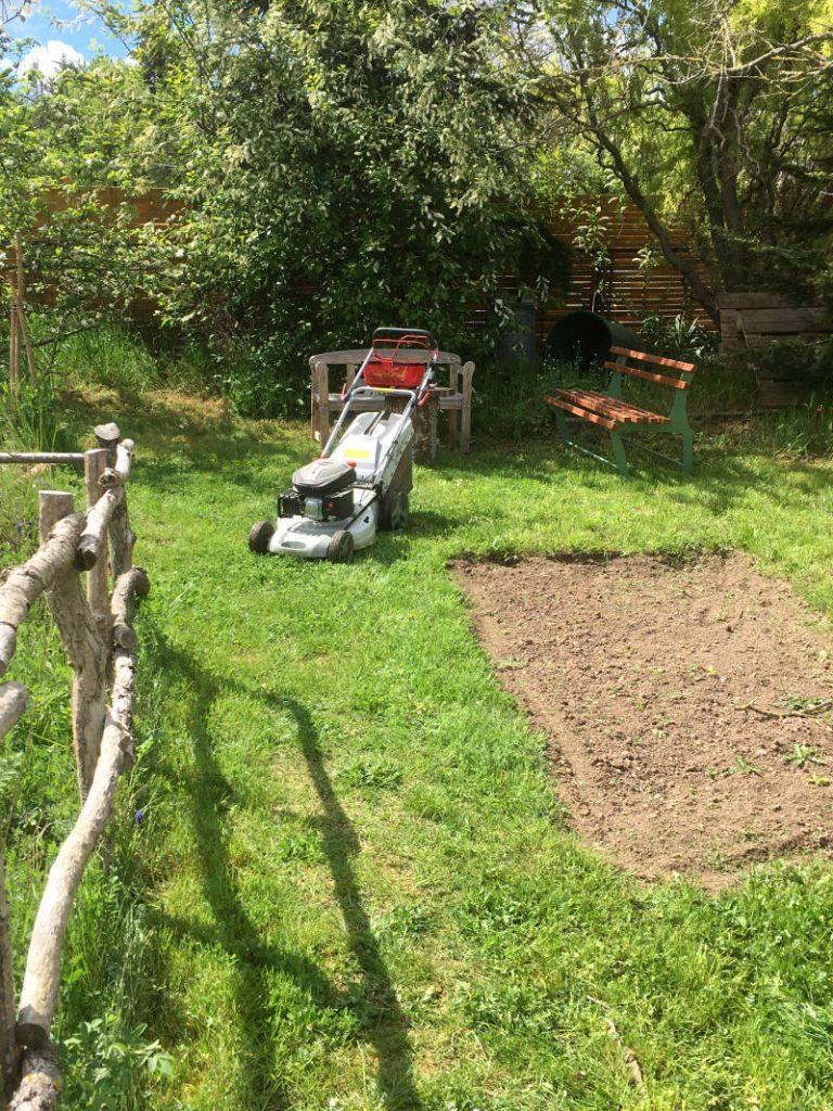 Planung des Gartens