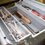 Grundausstattung an Werkzeugen
