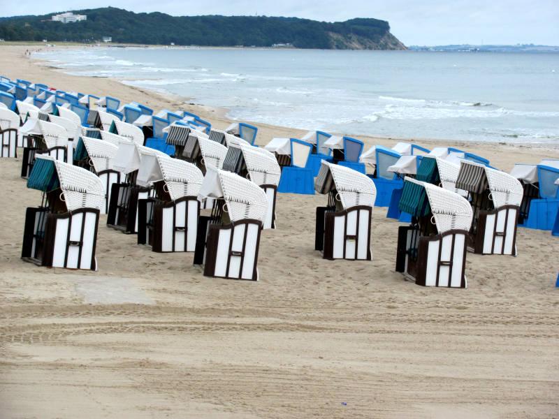 Strandkorb für Garten