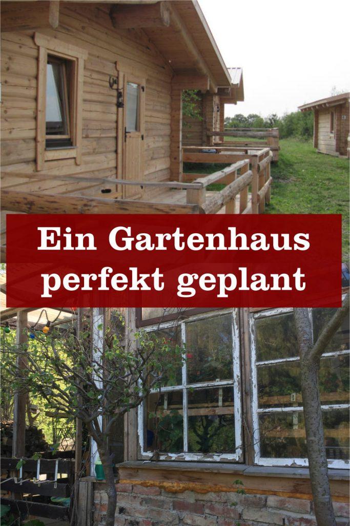 Gartenhaus perfekt geplant