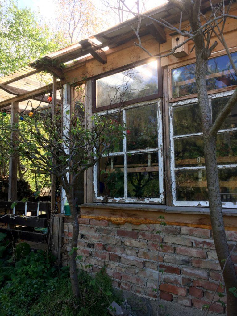 Wintergarten für Gartenhaus