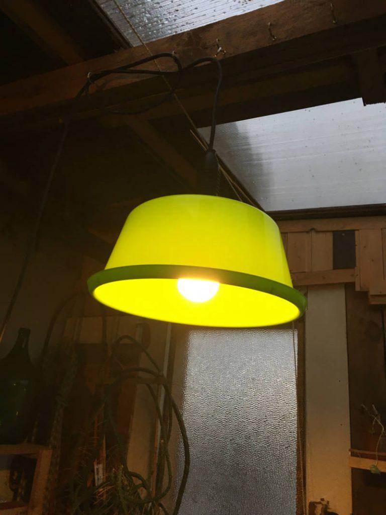Lampe Wintergarten selbst gebaut